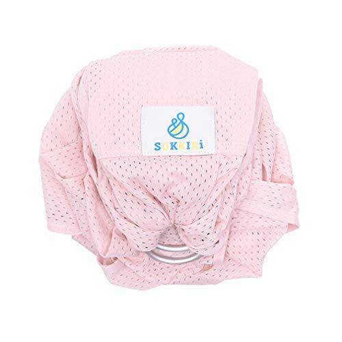 Porte-bébé Sling SUKKIRI Rose Pâle - LUCKY FRANCE