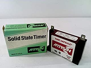 ARTISAN 438F-120-900 Solid State Timer 1AMP 120VAC 900SEC DELAY ON Make