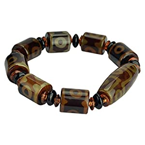 ZHIBO Dzi Korn Armband Armband tianyan achat-Armband-Korn-männer und Frauen schmuck Jade schmuck