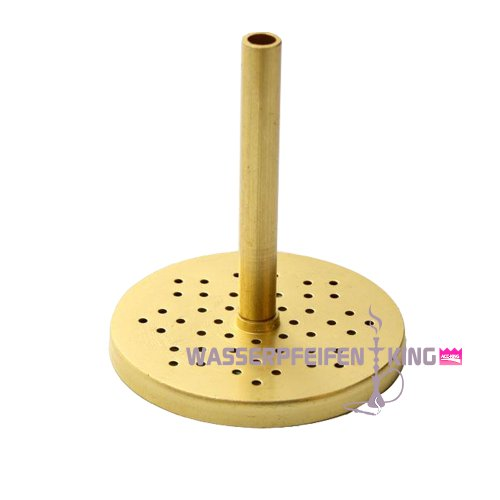 ShiSha Kaminaufsatz - Saphire Brass 51 - Kaminaufsatz für große Shisha Köpfe