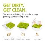 Boon GRASS Abtropfgestell mit praktischer Auffangschale für die Küche, Stylisches zweiteiliges Trockengestell in Grün, Baby Erstausstattung, Trockenständer für Babyflaschen, Baby Zubehör - 10