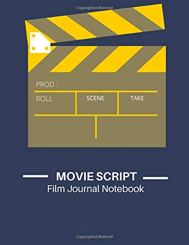 Movie Script Film Journal ...: Elegant Scene Storyboard Template To Write In Scen Comic  Movie Ideal Gag Gift for Filmmakers Advertisers Animators ... Pages: Best Perfect for future kids dreamers