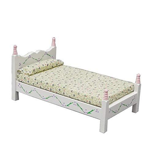 Par De Pino Modernos mesilla de noche de los gabinetes Casa de muñecas en miniatura muebles de dormitorio