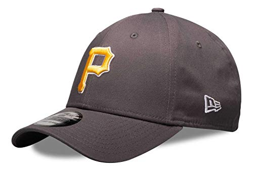 New Era - MLB Pittsburgh Pirates League Essential 39Thirty Stretch Cap - Grau Farbe Grau, Größe S-M