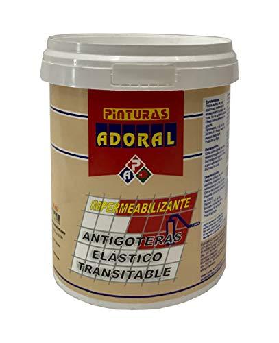 Adoral - Pintura Tela Asfáltica Transitable Terrazas y Fachadas ROJO 750 ml