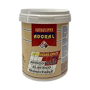 ADORAL – Pintura tela asfáltica líquida 750 ml. Gris