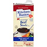 Kitchen Basics No Salt Beef Stock, 32 oz (Case of 12)