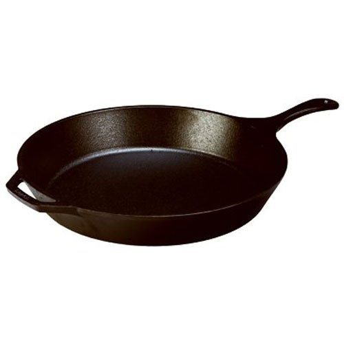 Lodge 13.25-inch Preseasoned Large Cast Iron Skillet