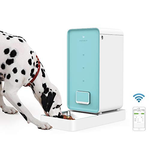PETKIT Automatic Pet Feeder Dog Feeder, Smart Feeding Pet Food Dispenser, Wi-Fi Enabled Pet Feeder, App for iOS Android, Work with Alexa, Portion Control, Timer Programmable, Fresh Lock System