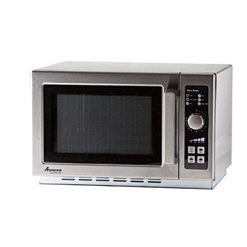 Amana RCS10DSE Medium-Duty Microwave Oven, 1000W