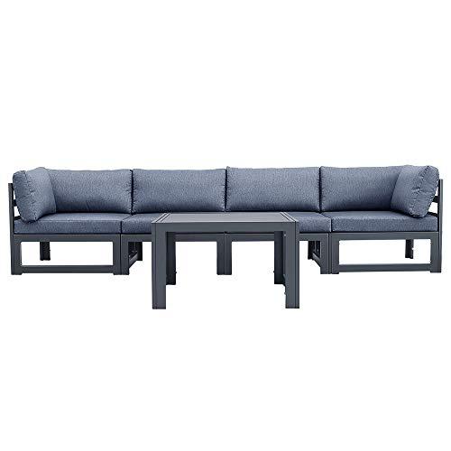 Outdoor Sofa 4 Pieces+Coffee Table