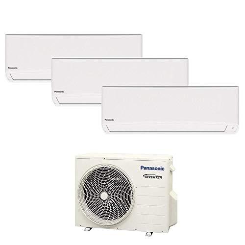 Climatizzatore trial split serie TZ super compatta R32 PANASONIC 7000+7000+12000 - WiFi integrato