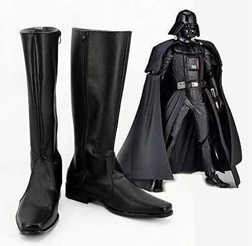 Star Cosplay Wars Imperial Stormtrooper Darth Vader botas hombres adultos zapatos superhéroe...
