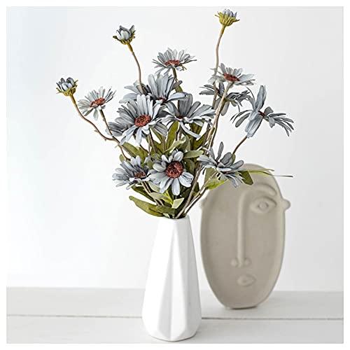 Fiori artificiali Fiore artificiale Piccolo Chrysanthemum Bouquet Decoration Decoration Soggiorno negozio Office Flower Dissposizione Fiori Fiore Fiore Fiori realistici Fiori di nozze realistici Fiori