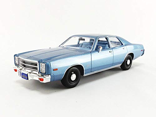 christine 1:18 Artisan Collection (1983) - Detective Rudolph Junkins' 1977 Plymouth Fury GREEN LIGHT