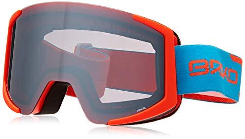 Briko Lava XL 2 Lenses Unisex-Brille für Erwachsene Einheitsgröße A51Fl Orange Blu/Sm3P1