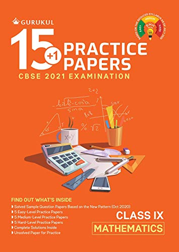 15+1 Practice Papers - Mathematics: CBSE Class 9 for 2021 Examination (English Edition)