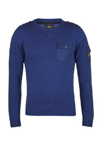 Dreamweaver - Pull - - Manches longues Homme Bleu Bleu - Bleu - Bleu cobalt - Large