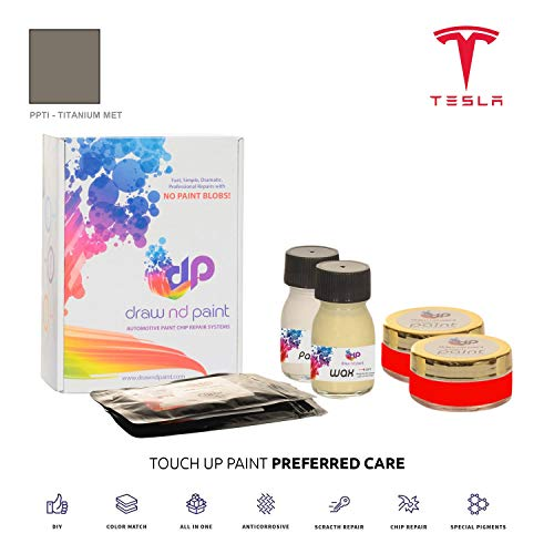 Draw nd Paint Titanium Metallic - PPTI Lackausbesserungsset