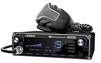 Uniden BEARCAT 980 40- Channel SSB CB Radio with Sideband NOAA WeatherBand,7- Color Digital Display PA/CB Switch and Noise Cancelling Mic Wireless Mic Compatible