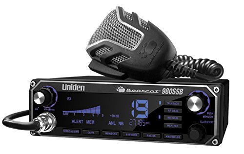 Uniden BEARCAT 980 40- Channel SSB CB Radio with Sideband NOAA WeatherBand,7- Color Digital Display PA/CB Switch and Noise Cancelling Mic, Wireless Mic Compatible. Buy it now for 239.99