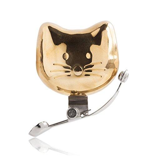 SUCK UK Katzen-Fahrradklingel - Gold