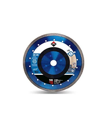 Rubi 31938 Disco Diamante Material Duro Turbo Viper (TVH) 300 SuperPro, Gris, 300 mm