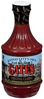Gates Original Classic Bar-B-Q Sauce, 28 Ounce, Kansas City Style Barbecue Sauce
