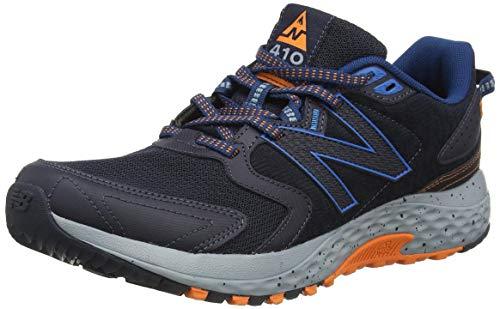 New Balance 410, Zapatillas de Senderismo Hombre, Negro (Rogue Wave), 45 EU