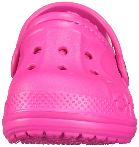 Crocs Kids' Baya Lined Clog | Kids' Slippers, Candy Pink/Candy Pink, 12 Little Kid