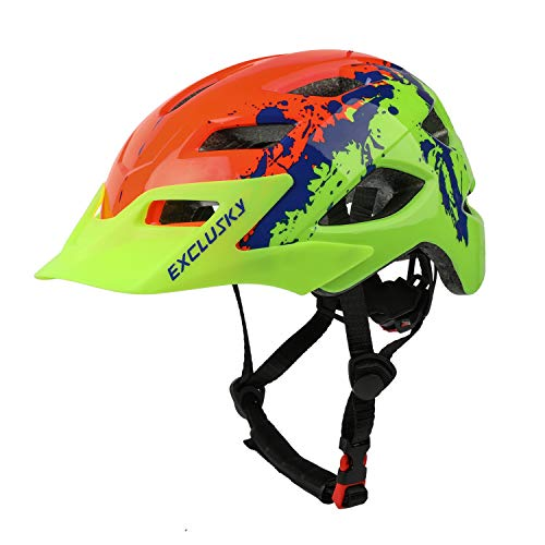 Product Image of the Exclusky Kids Helmets for Bike/Skate/Multi-Sport Lightweight Adjustable...