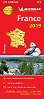 France 2019 - Michelin National Map 721 (Michelin National Maps)