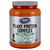 Now Sports Nutrition, Plant Protein Complex Powder, Chocolate Mocha, 2-Pound
