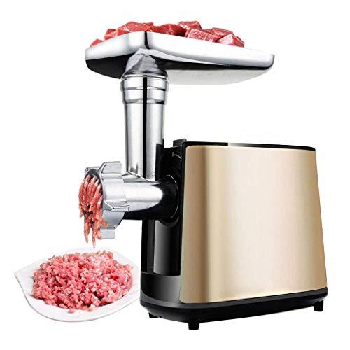 GJJSZ Haushalt Edelstahl Fleischwolf,vollautomatische elektrische Fleischwolf,kann gebrochen Werden/Hackfleisch/Einlauf/gepresste Nudeln