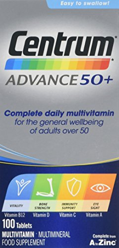 Centrum Advance 50 Plus Multivitamin Tablets, Pack of 100