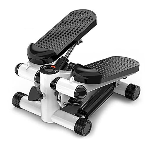 SHUB Mini stepper para piernas y glúteos con pantalla multifunción, pequeños aparatos de fitness para el hogar
