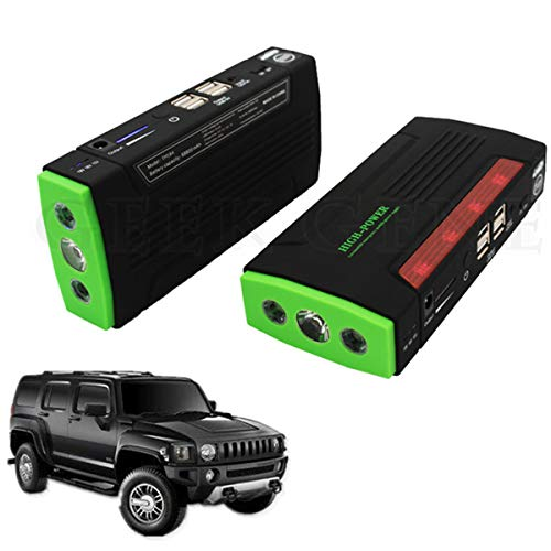 Read About High Capacity 12V Car Battery Jump Starter Emergency Auto Jumper Engine Portable Power Ba...