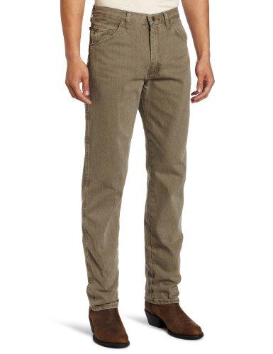 Wrangler Big & Tall Rugged - Pantalones Vaqueros para Hombre Verde Oliva 27-32