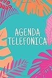 Agenda Telefonica: libreta abecedario A5 17x22, guarda tus direcciones, correos electrónicos, números de teléfono, medios sociales, cumpleaños, ... contraseñas de regalo originales y perfectas.