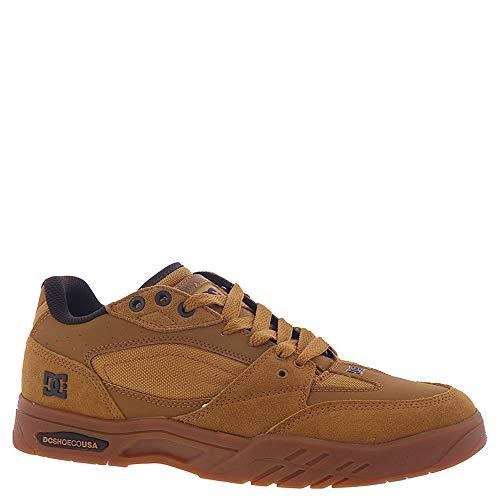 DC Men's MASWELL Skate Shoe, Wheat/Dark Chocolate, 6.5 M US