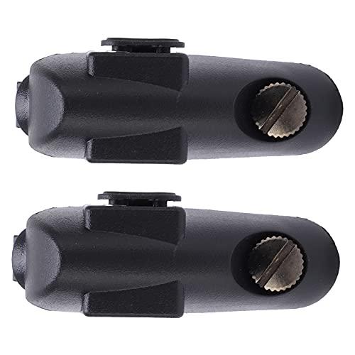 FOLOSAFENAR Walkie-Talkie-Ohrhörer-Adapter, praktisch für Lautsprecher-Mikrofon-Ohrhörer-Adapter für für EIN bestimmtes Handy-Modell