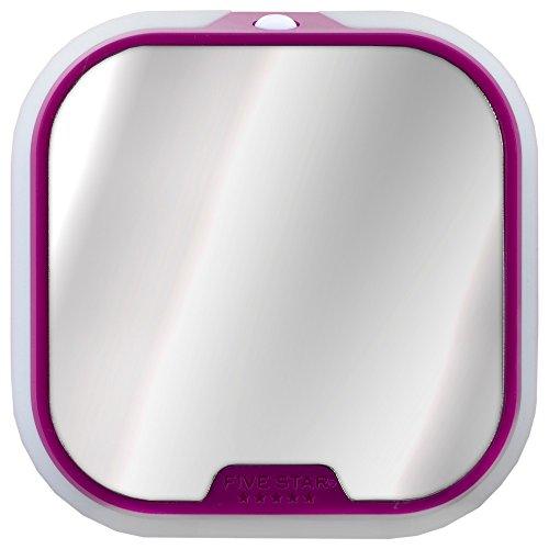 Five Star Locker Accessories, Magnetic Locker Mirror and Locker Light, Bright Pink (38277)