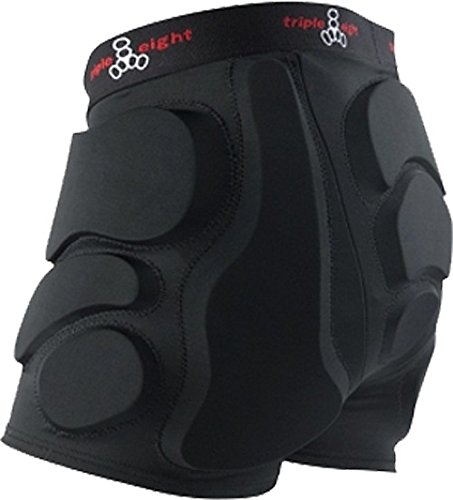 Triple 8 Bumsaver Black X-Large Hip Pads