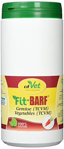 cdVet Naturprodukte Fit-BARF Gemüse (TCVM) 700 g - Hund&Katze - getreidefrei - nach traditioneller chinesischer Medizin  - Milz - Magen - Leber - Galle -  Darmfloraaufbau  - Rohfütterung - BARFEN -