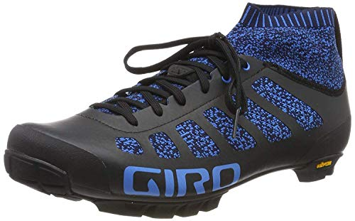 Giro Empire Vr70 Knit MTB, Zapatos de Bicicleta de montaña Hombre, Multicolor (Midnight Blue 000), 41.5 EU