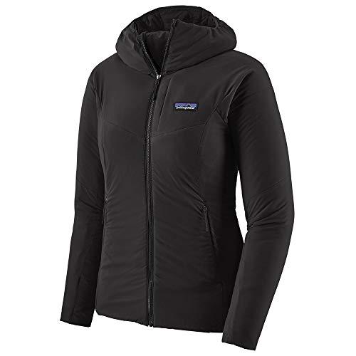 Patagonia Damen W's Nano-Air Hoody Weste, schwarz, XL