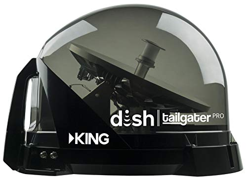 DISH Tailgater Pro Portable Satellite Dish - RV System for HD TV Anywhere