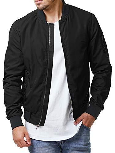 Tommy Hilfiger Men's Microtwill Retro Varsity H Bomber Jacket, Oyster, Medium