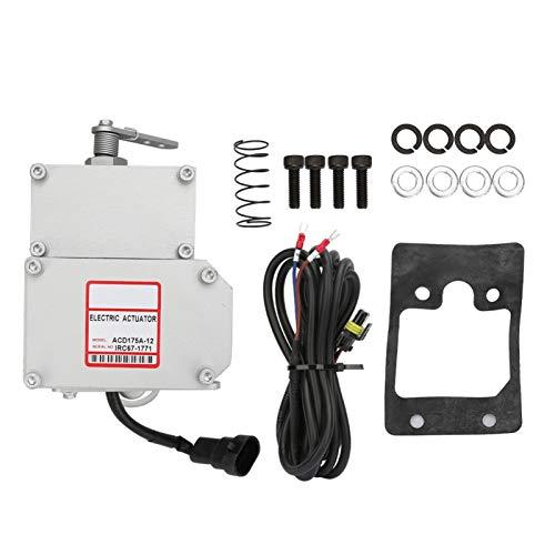 PBOHUZ Actuador generador-actuador de gobernador eléctrico Pieza de generador diésel Accesorio Industrial Carrera de 23 MM CC 12 V