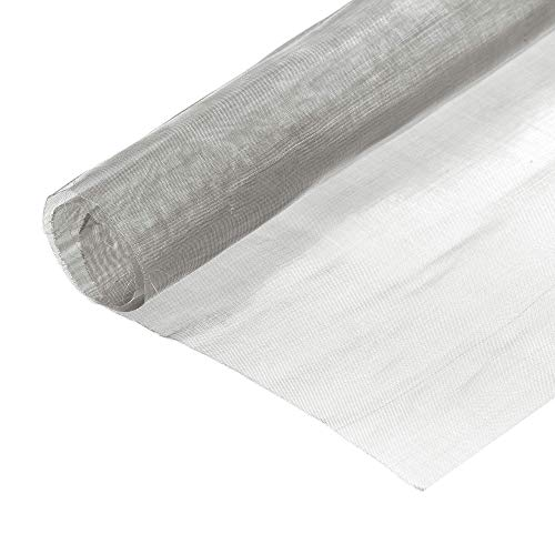 DyniLao 330x310mm Woven Wire Mesh 150 Mesh 304 Stainless Steel for Computer Cooling Fan Air Vent Cabinet